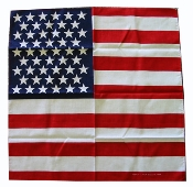 US Flag Bandana