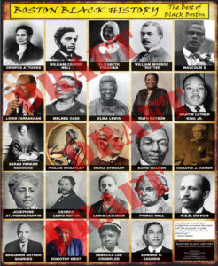 Boston Black History Poster I