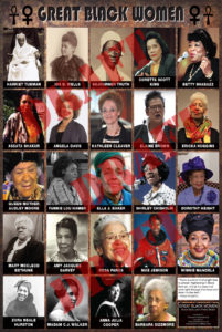 Great Black Women Poster