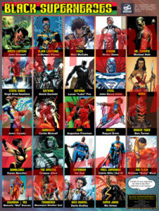 Black Superheroes Poster – DC