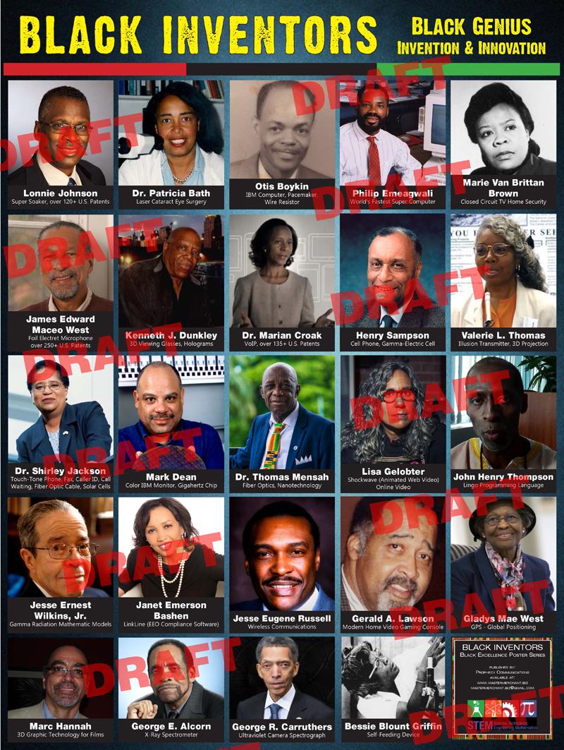 Black Inventors Poster